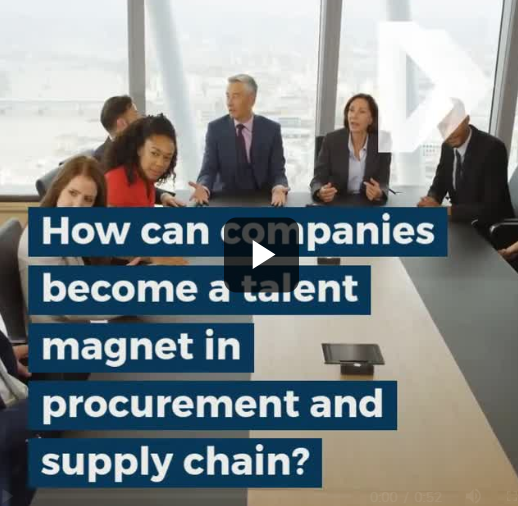 ​How can companies become a talent magnet in procurement and supply chain?